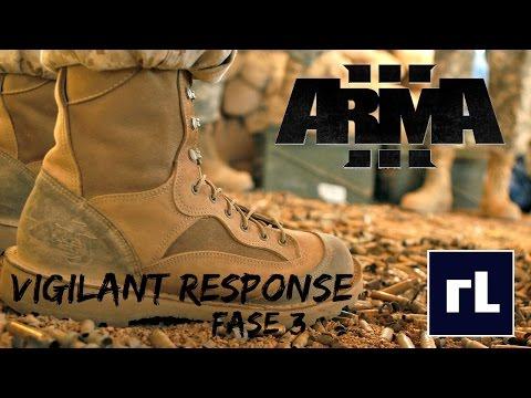ArmA 3 : Vigilant Response - Fase 3 - Direct Actions Team - USMC Force Reconnaissance
