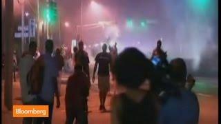 Ferguson Clash Continues With Stun Grenades, Tear Gas