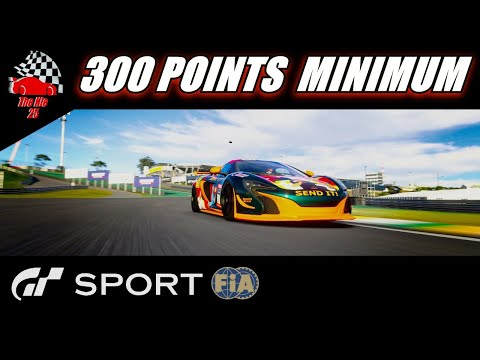 Gran Turismo Sport 300 Points Minimum - FIA Manufacturer