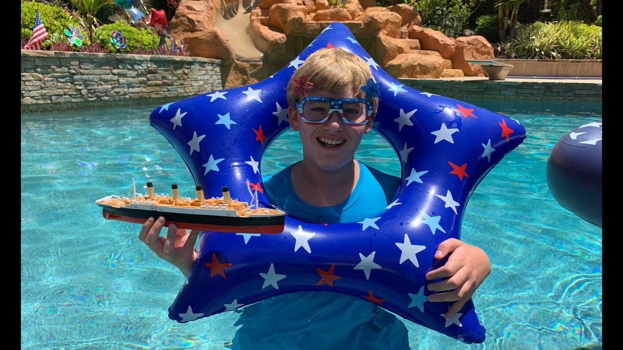 Larry Life Titanic Submersible 4th of JULY SPECIAL!