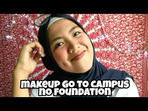 SIMPLE MAKEUP GO TO CAMPUS | Fani Rahm