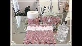 DIY:Como fazer esse lindo kit para deixar seu lavabo ainda mais bonito