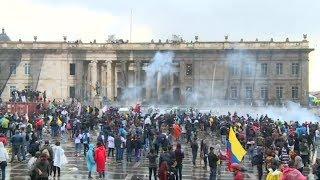 Colombia: protestas dejan 3 muertos y anuncian toque de queda en Bogotá