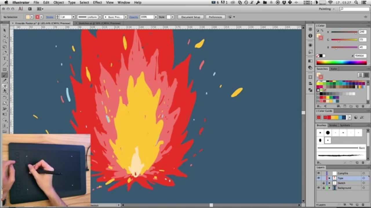Poster design using illustrator - Poster Design Using Illustrator 2