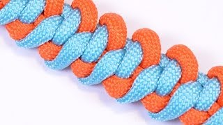 "How to Make the ""Electric 3rd Rail"" Paracord Survival Bracelet - BoredParacord"