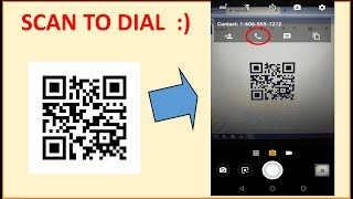 Create QR Code to Dial Phone Number