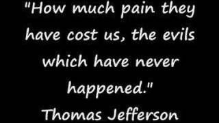 Words of Wisdom from Thomas Jefferson