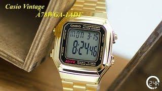 Review Đồng Hồ Chính Hng Casio Vintage A178WGA-1ADF [dongho24h.com]