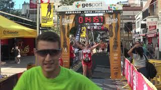 Arribada 12a Mitja Marató Costa Barcelona - Maresme 19/09/2021 (2/3)  1h31'12 - 1h56'11