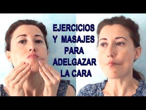 Metodos efectivos para adelgazar la cara