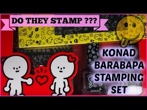 nail-art-stamping---konad-barabapa-stamping-kit-review-and-swatches-(happy&honeymoon)✓