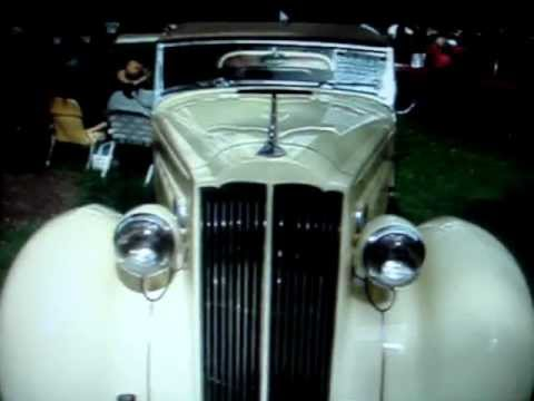 1937 PACKARD MODEL 115C CONVERTIBLE COUPE -- SURVIVING THE DEPRESSION