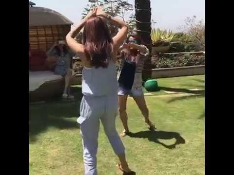 Shilpa Shetty dances on Holi; The 'Bhang effect'