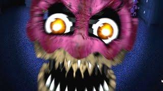 NIGHTMARE CUPCAKE ATTACKS! - FIVE NIGHTS AT FREDDY'S 4 [Night 4]