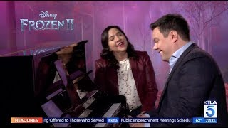 "Award Winning ""Frozen 2"" Music Makers Kristen Anderson-Lopez & Robert Lopez Play A New Anthem"