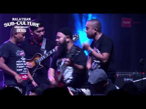 MALAYSIAN SUB-CULTURE ANNIVERSARY 2015 HIGHLIGHT NITA feat. THE MERC LIVE