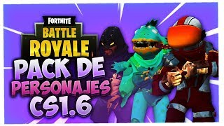 Fortnite Character Pack for your CS 1.6