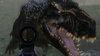 Fighting the Primal T.Rex! : The Hunter Primal