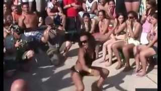 Конкурс эротического танца на пляже часть 2