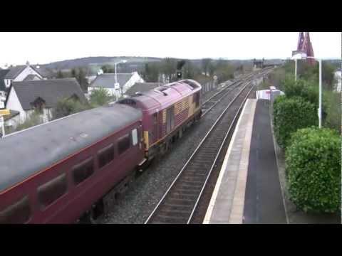 Fife Circle Loco-Hauled Trains On 6/4/12