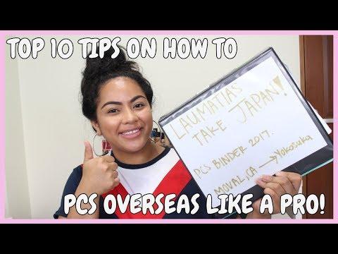 HOW TO PCS OVERSEAS LIKE A PRO   TOP 10 TIPS   YOKOSUKA