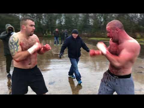 Davey JOYCE vs Michael NAVIN 2017 GYPSY BAREKNUCKLE FIGHT MEXICAN PAUL SHOWING FAIRPLAY