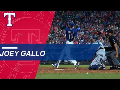 Watch all 41 of Joey Gallo's 2017 homers