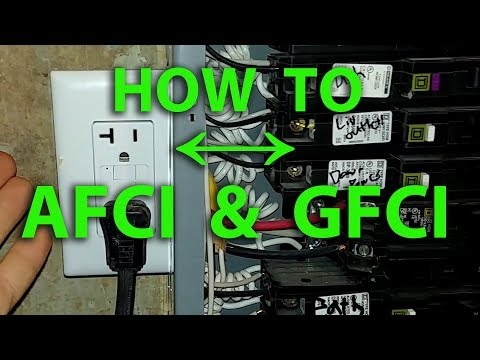 How To Wire For Both Ground Fault & Arc Fault Protection