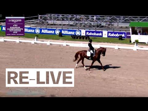 LIVE 🔴 | Para-Dressage (Grade IV) | Team | FEI European Championships 2019 (Rotterdam)