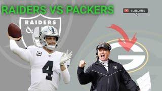Oakland Raiders vs Packers || Recap & Analysis