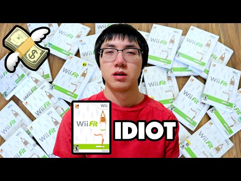 BUYING EVERY COPY OF WII FIT I SEE - PlainrockVlogs