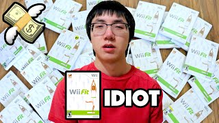 BUYING EVERY COPY OF WII FIT I SEE