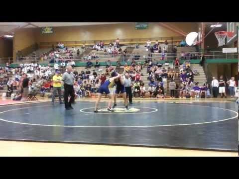 Aldo won !!! The Junior High Wrestling District Champ. Utah. 2013