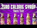 Zero Calorie Syrup