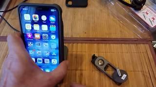Чехол с креплением Topeak RideCase iPhone X / XS  (TT9855) - Обзор и распаковка!