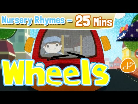 The Wheels On the Bus,  Twinkle Twinkle Little Star - Nursery Rhymes Collection - ELF Kids Videos