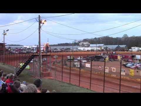 Hartwell Motor Speedway Hobby Heat Races 3/12/16