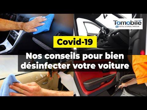 Covid-19: Nos conseils pour bien désinfecter votre voiture