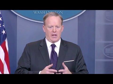 Mar 29, 2017-Sean Spicer White House Press Briefing- Full Event