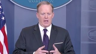 Mar 29, 2017-Sean Spicer White House Press Briefing- Full Event