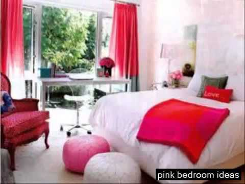 Ideas Bedroom For Girls Pink Color