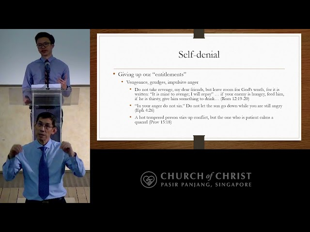 The Way Of The Cross : Grace Over Force - Gareth Chan