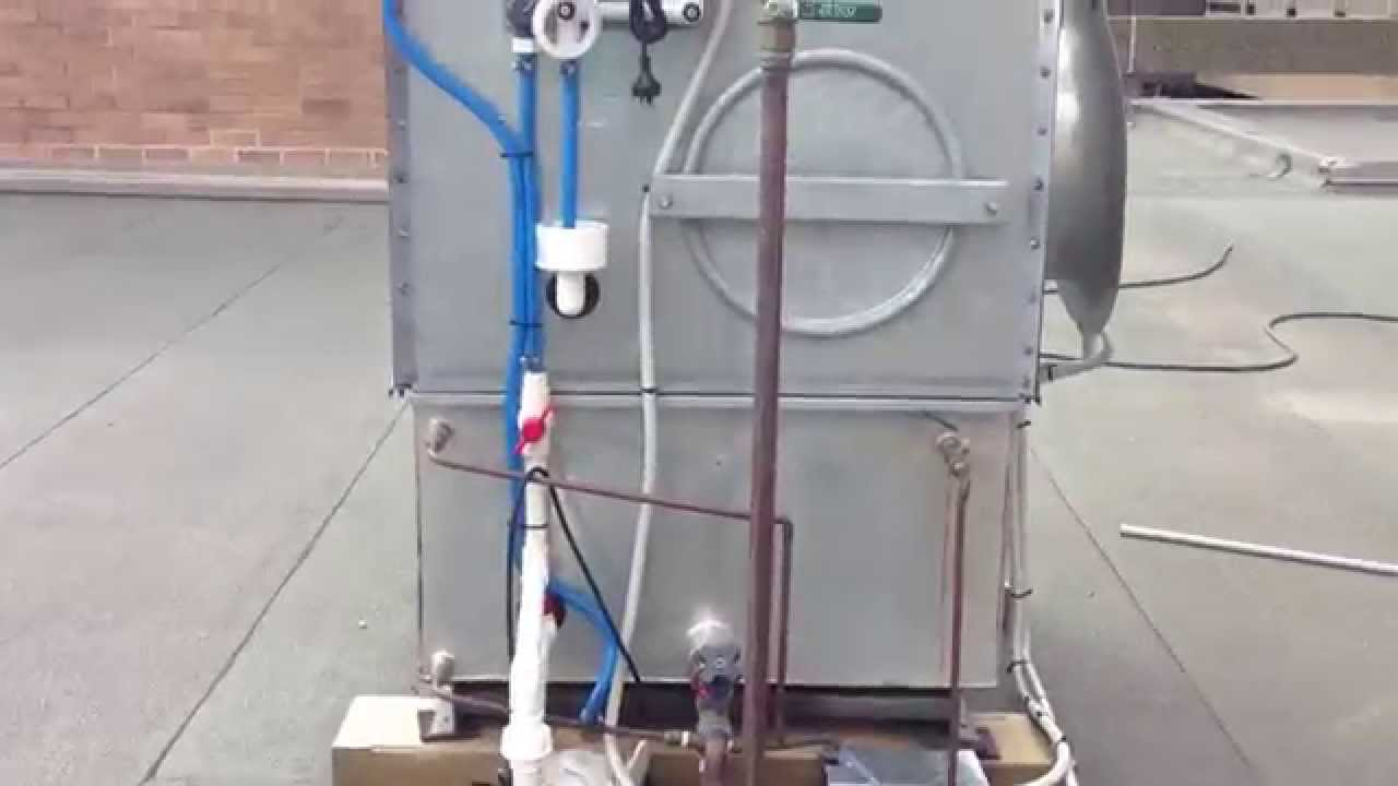Solar Assisted Single Effect Absorption Chiller Youtube