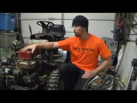 Gas found in Oil Lawn tractor Edition