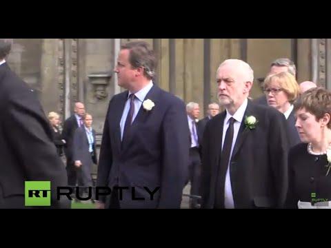 LIVE: MPs attend memorial service for Labour MP JO Cox