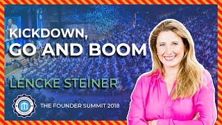 KICKDOWN, GO AND BOOM - Lencke Steiner - Founder Summit 2018 | Entrepreneur University