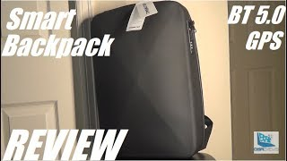 REVIEW: TIMENOTEN Smart Backpack w. Bluetooth Lock, GPS Tracking?!