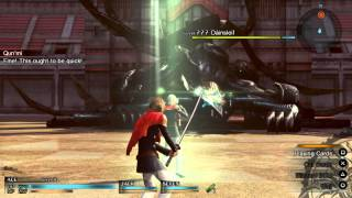 Final Fantasy type 0 HD gameplay - PS4
