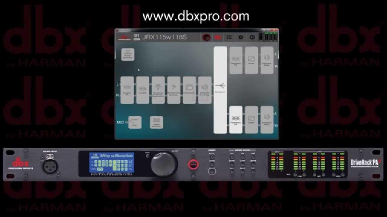 DriveRack PA2 | dbx Professional Audio