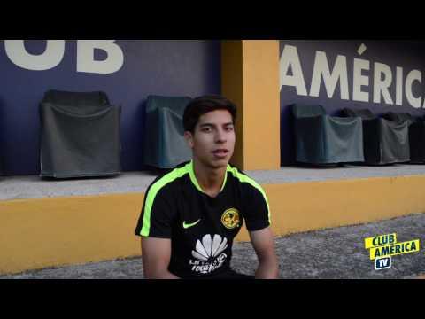 Entrevista al juvenil Diego Lainez